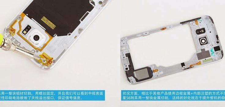 Cambiar la batería del Galaxy S6 será una misión complicada | RevoluTegPlus