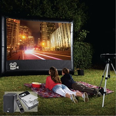 My Outdoor Home Theater Pack