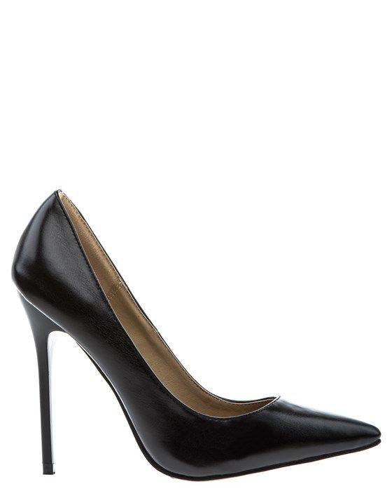 Snygga och klassiska pumps med stilettklackar och spetsiga tår. Fina skor både till vardags och till fest.