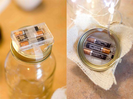 Make a Fairy Light Jar- that actually works!