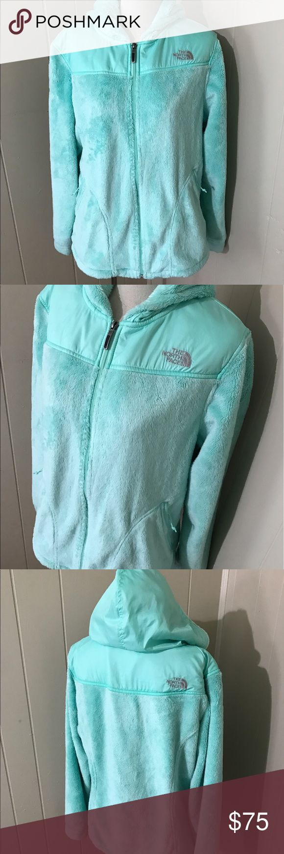 The north face mint green fleece Virtually new! The North Face Jackets & Coats