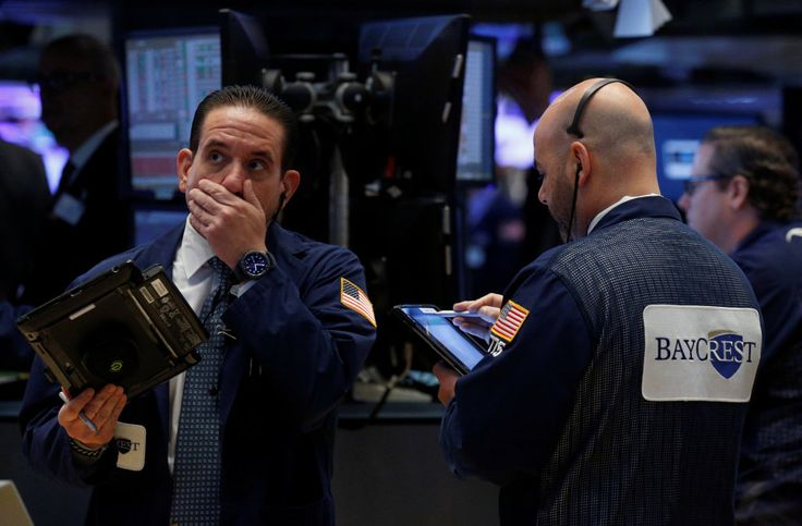 U.S. stocks sold off on Wednesday as investors fled risky assets amid  uncertainty about Trump's ability to  deliver on tax and regulatory reform. Stocks, dollar sink as investors rethink 'Trump trade'  AOL.COM 12 mins ago  U.S. stocks and the dollar sold off and bond prices rallied on Wednesday as investors fled risky assets amid uncertainty about U.S. President Donald Trump's ability to deliver on tax and regulatory reform.  Reports that Trump asked then-FBI Director James Comey to end a p