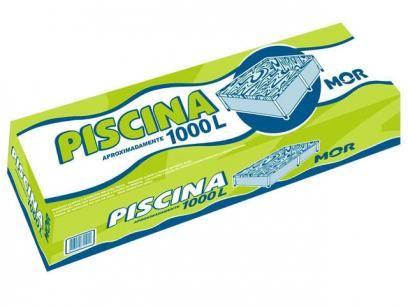 Piscina Infantil 1000 litros - MOR com as melhores condições você encontra no Magazine Edyeely. Confira!