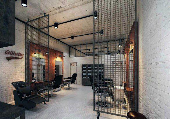 Top 80 Best Barber Shop Design Ideas Manly Interior