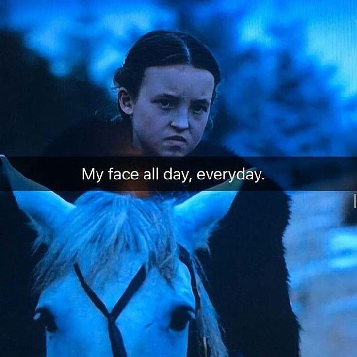 Queen Lyanna Mormont. This little Queen was a boss!