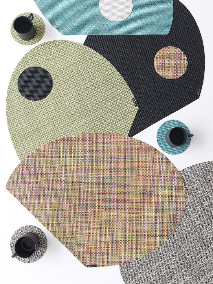 Chilewich OnEdge placemats and coasters offers revolutionary