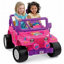 Buying this for Natalie! ---Power Wheels Fisher-Price Barbie Jammin' Jeep