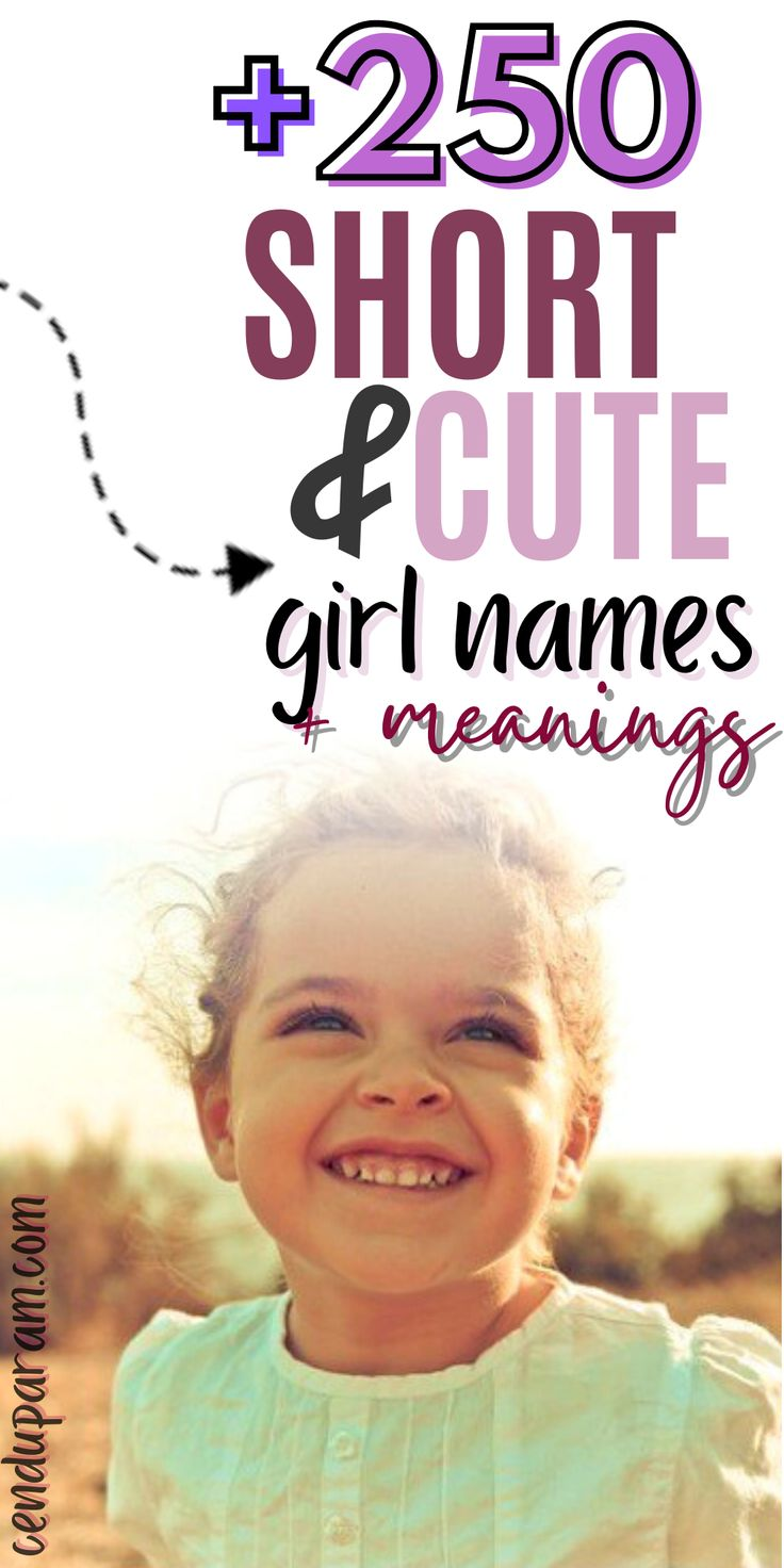 Prettiest 4 Letter Girl Names With Meanings + Origins