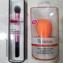 High-End Results at Drugstore prices - Real Technique Setting Brush and Miracle Complexion Sponge Review