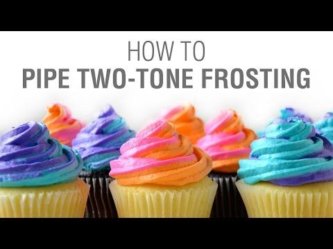 Just a Taste | Video: How to Pipe Swirled Frosting