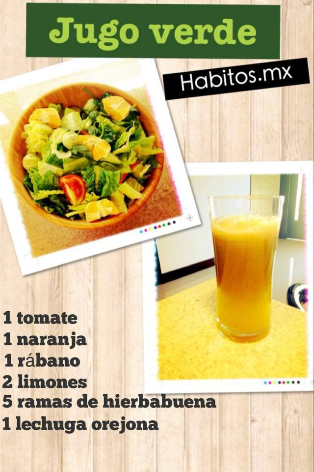 Jugo verde #habitosmx #hábitos #salud #health
