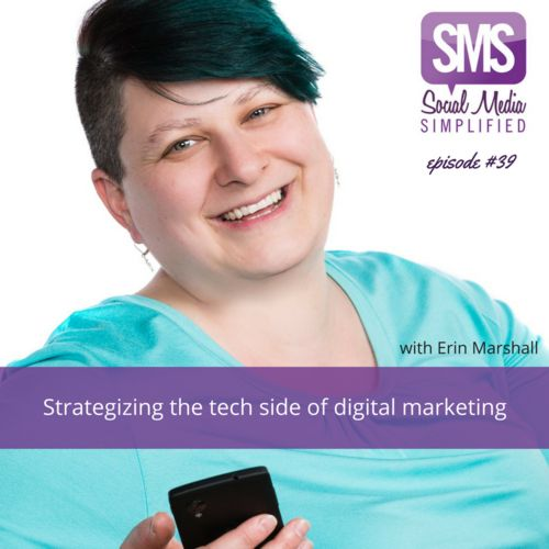 #39 - Strategizing the tech side of digital marketing | Investing in the tools and programs that are right for your business with Erin Marshall | Lara Wellman Digital Marketing
