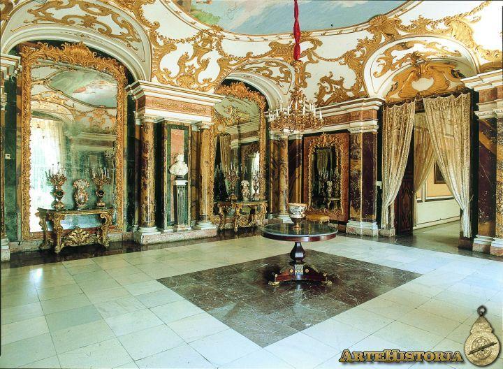 Real Palacio (La Granja de San Ildefonso, Segovia). Sala de los Espejos