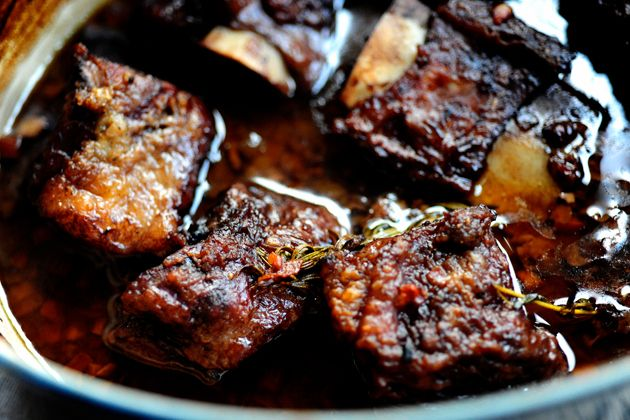 You must make this as soon as you can. If you've never had beef short ribs before, you're missing out on one of life's great pleasures—and I'm not exaggerating this time. Beef short ribs are like the most flavorful, delectable, tender, soft pot roast you can possibly imagine