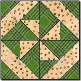 Pinwheel # 7 quilt block pattern