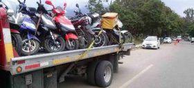 En operativos de seguridad, 13 motocicletas con irregularidades fueron…