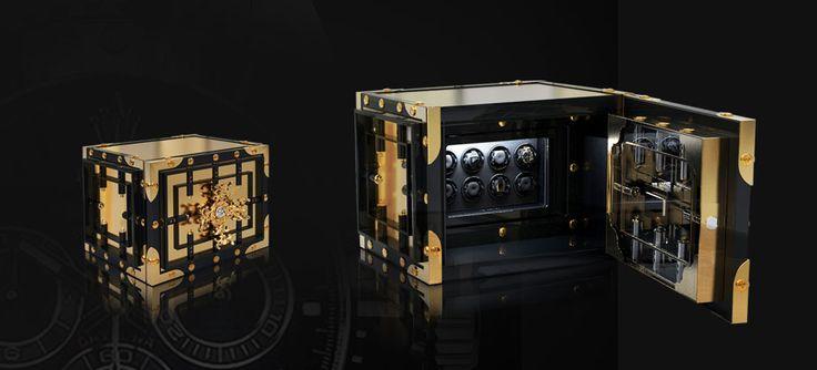 #Bocadolobo Luxury Safe. Beautiful Knox Watch Winder