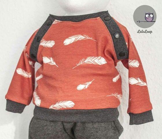 freebook mini basic shirt von Lotte&ludwig mit birch jersey