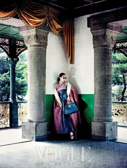 서울 十景, Vogue Korea, August 2013