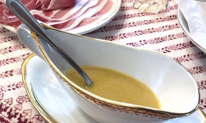 Receta de Vinagreta de miel y mostaza