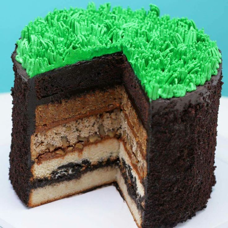 Each Layer Of The Cake Represents A Different Layer Of