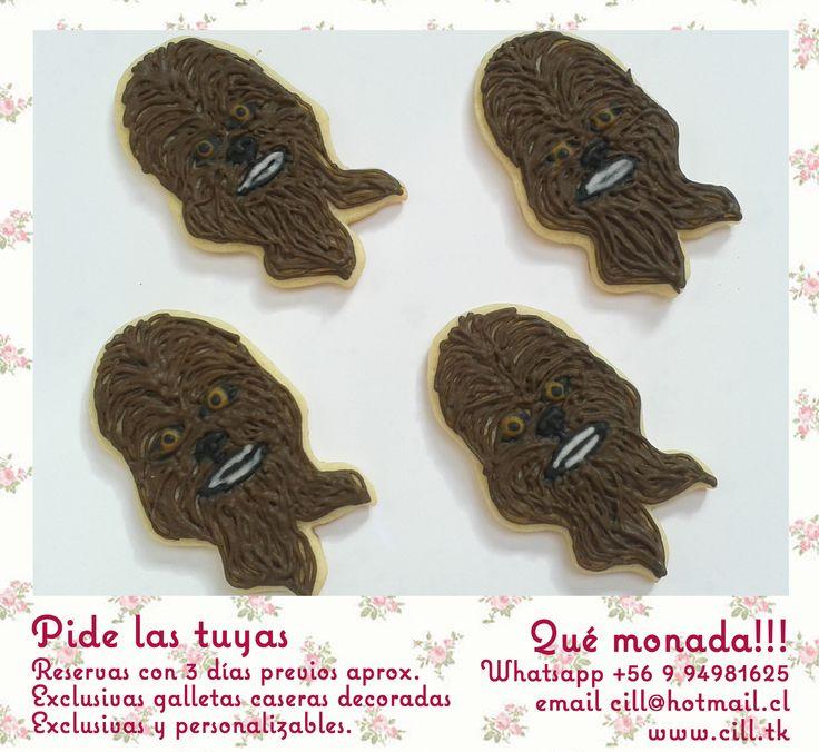 Chewbacca, Star Wars Cookies