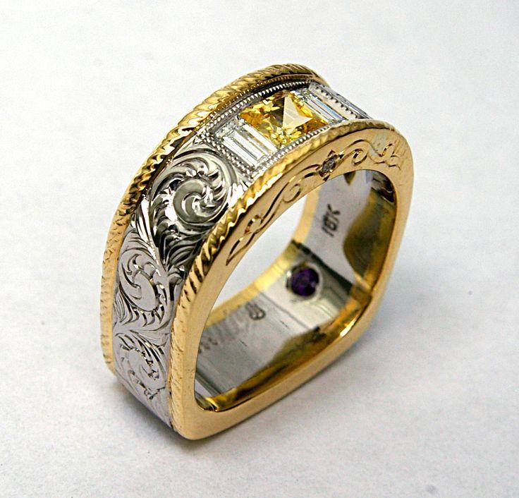 menscustomweddingbands custom engagements rings and montana wedding bands - Horseshoe Wedding Rings