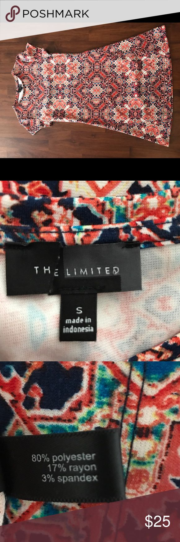 Printed The Limited Dress Never worn dress from The Limited. Dress it up or wear as is, perfect fit for any occasion. The Limited Dresses Mini