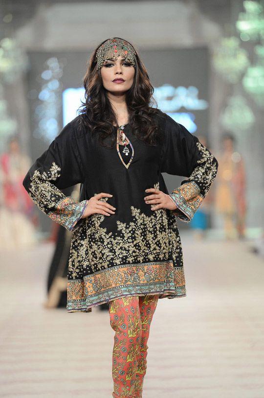 'The Folk Tale' 2014-15 Collection by Zara Shahjahan https://www.facebook.com/zarashahjahan #Pakistan @ #PLBW2014