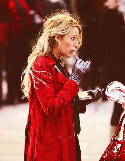 Serena - Christmas time at Gossip Girl <3