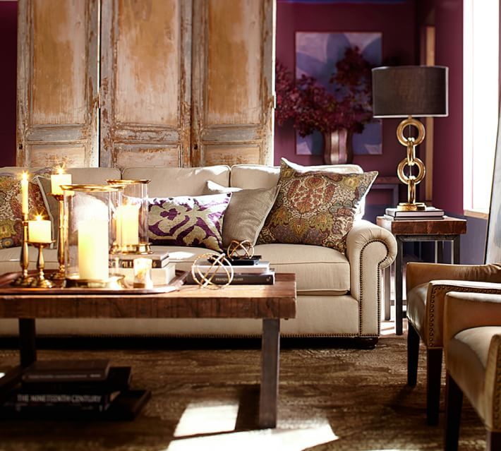 An Upholstered Sofa Is The Ultimate Necessity For A Comfortable Living Room And Best