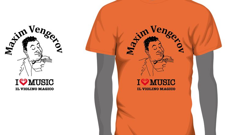 マキシム・ヴェンゲーロフ&MAGICO Tシャツ