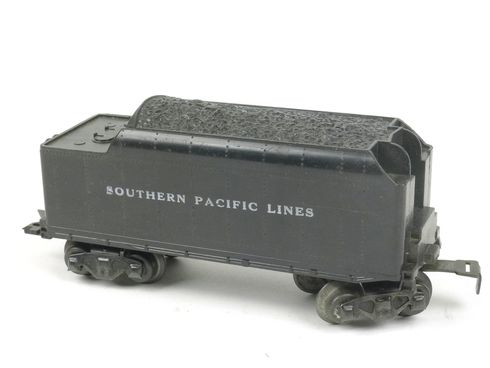 Marx Trains 1951 Tender Southern Pacific Lines 8 Wheel