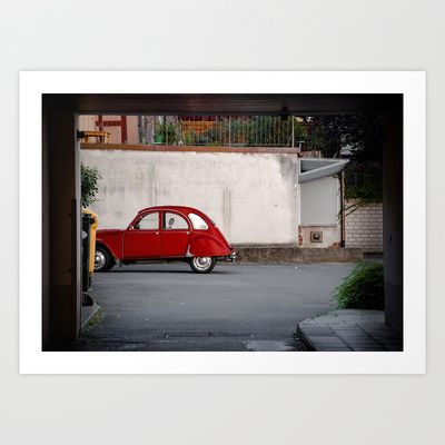 Germany 6 Art Print by jacthegirl - $25.00