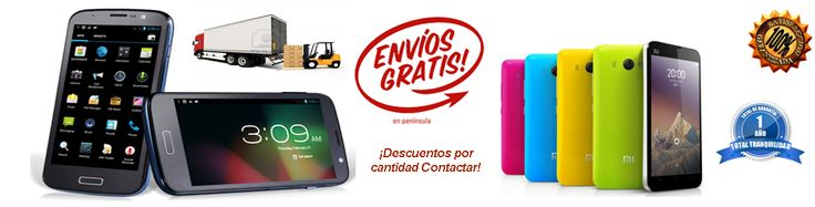 Venta de moviles Chinos Moviles Dual Sim en España Clones S4 y iPHONE 5 envios gratis #movileschinos  #movileslibres #movilesdualsim #movilesandroid