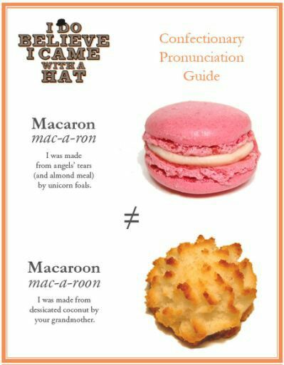 One is a delicate pâtisserie the other an assault on the palate😂