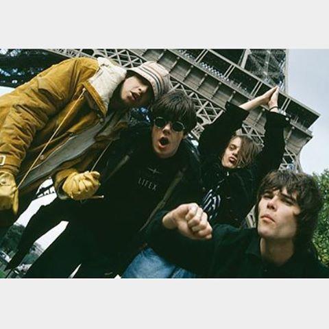 The Stone Roses #ianbrown #thestoneroses #johnsquire #alanreniwren #garymanimounfield #90s #80s #1989 #madeofstone #spikeisland