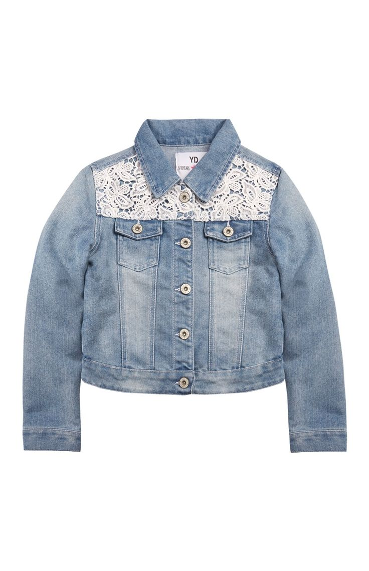Crochet Denim Jacket