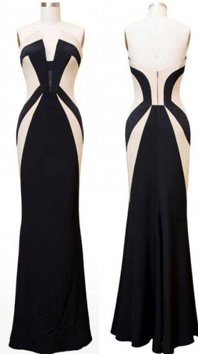 Olivia Pope Black and White Dress #scandal #oliviapope #fashion