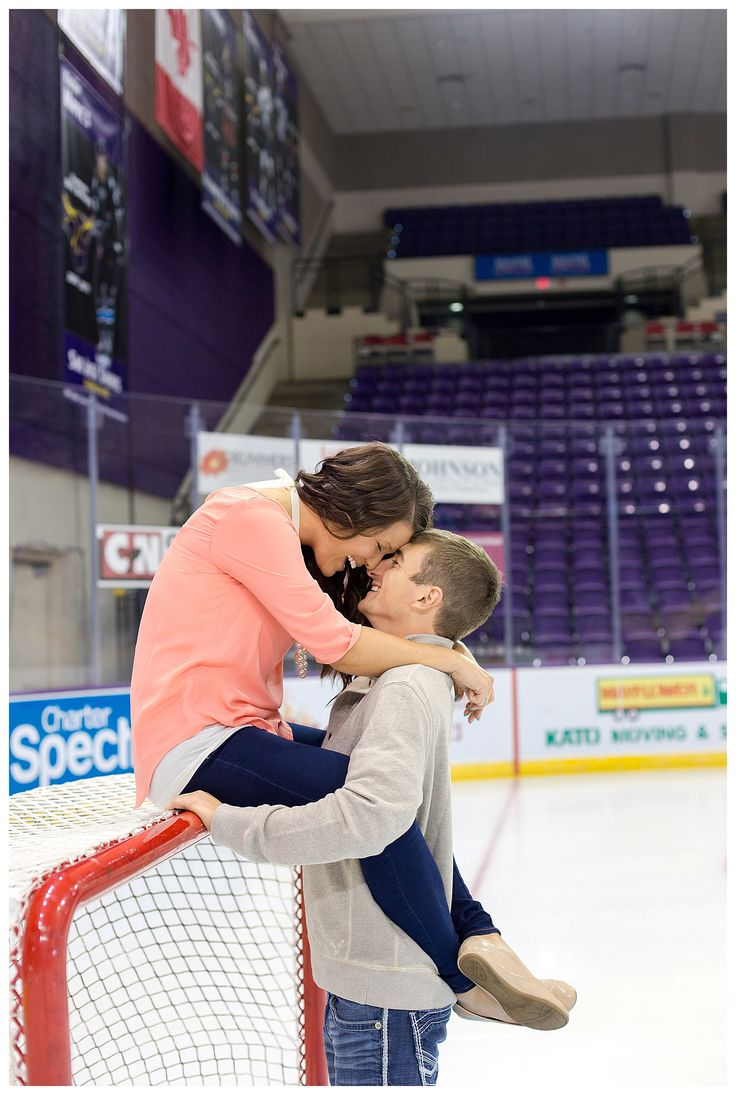Hockey Engagement Pictures | Mankato, MN Engagement Photography | Weddings, Engagement, Couples, Love & Lifestyle Photography Norfolk Virginia, Mankato Minnesota