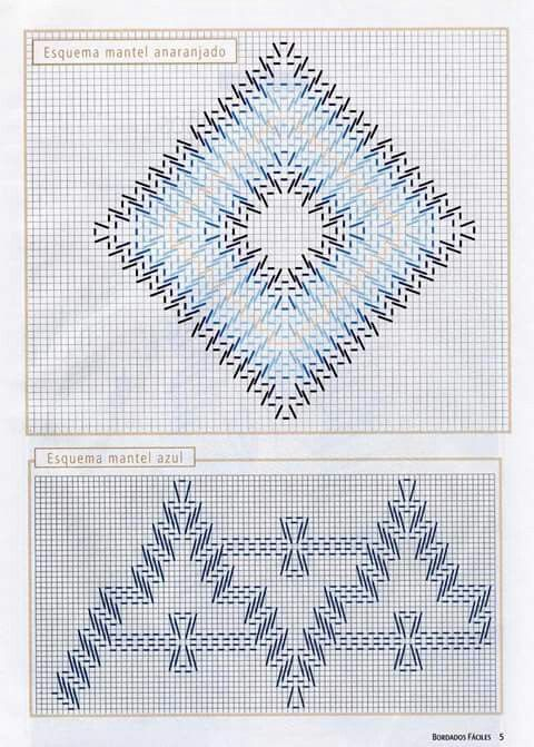 12 best Graficos Bordado Yugoslavo images on Pinterest | Embroidery ...