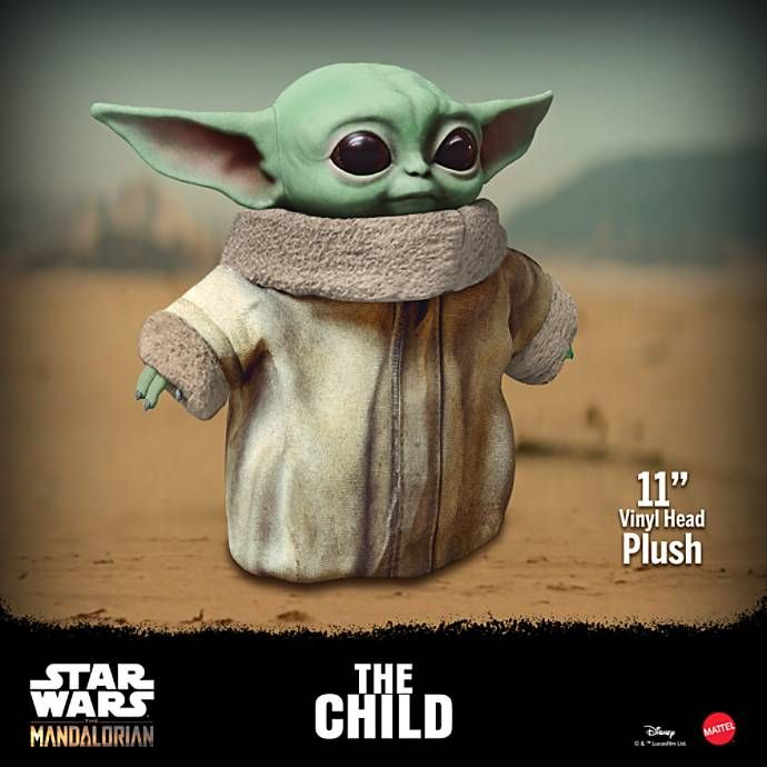 The First Baby Yoda Plush Toy Is Now Available For Pre Order Baby Yoda Plush Disney Star Wars Baby Yoda