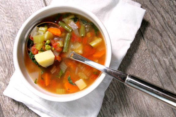 This easy vegetable soup recipe is best choice among vegetable recipes and soup recipes to make for dinner or weeknights with family.