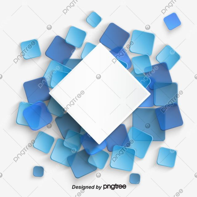 Blue Abstract Square Level Business Border Blue Clipart Abstract Blue Blue Png And Vector With Transparent Background For Free Download Blue Abstract Free Vector Graphics Abstract Backgrounds