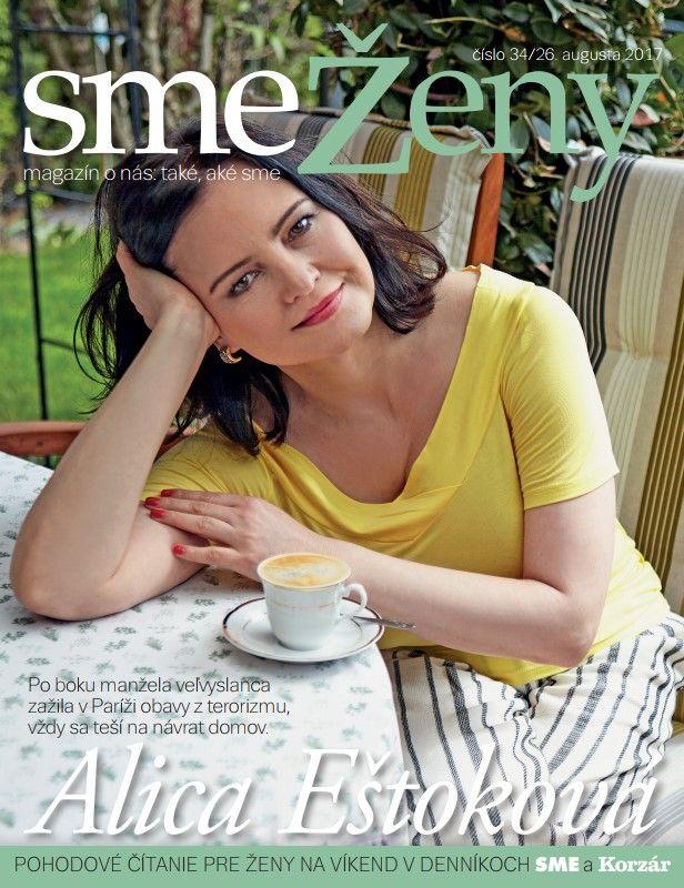 Magazín smeŽeny nájdete v sobotu 25. augusta v denníku SME .