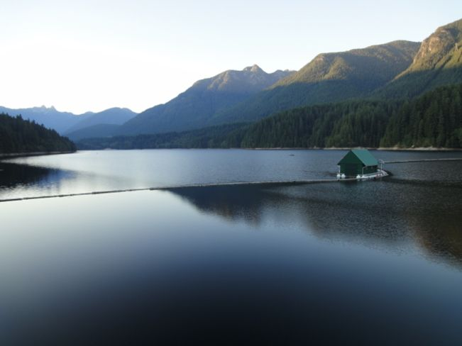 North Vancouver water supply. So beautiful!!