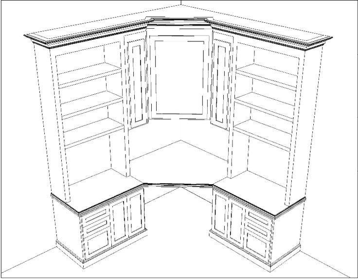 Fancy CAD Drafting Project snapshot of wardrobe