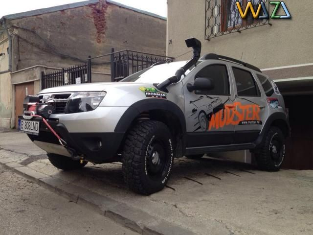 Mudster Romania - modificari Dacia Duster