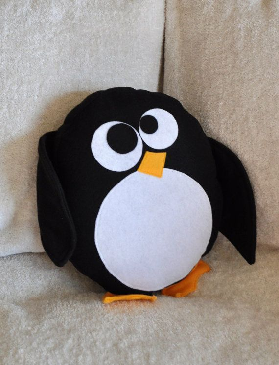 penguin pillow!