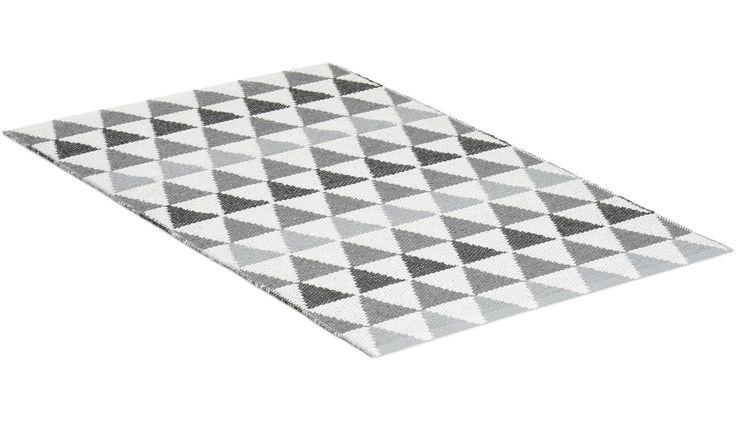 Tribus grå - plastmatta